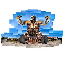 Almighty Junk Yard Monster Photographic Print