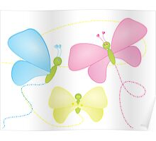 Butterfly Sisters Poster