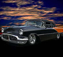 1956 Oldsmobile Custom Convertible by DaveKoontz