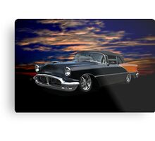 1956 Oldsmobile Custom Convertible Metal Print