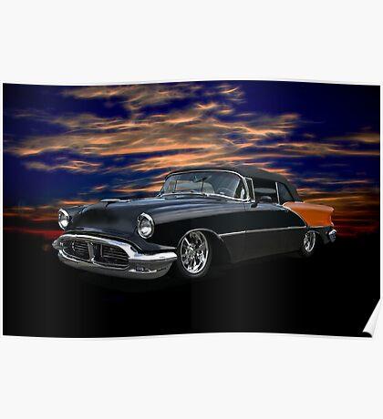 1956 Oldsmobile Custom Convertible Poster