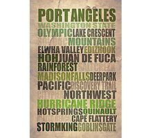 Port Angeles Poster Photographic Print