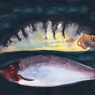Fish in Water Colour by Marilyn Brown