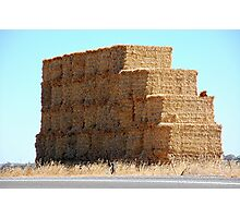 Weetbix Stack, Clare Valley, S.A Photographic Print