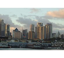 Lights On Sydney - Moods of A City, Sydney Australia Photographic Print