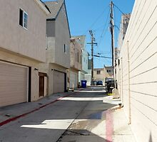 San Diego Backstreet by Dennis Schaefer