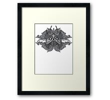 I Must Not Fear Framed Print
