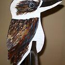 Australian Bluewinged Kookaburra. by gunnelau