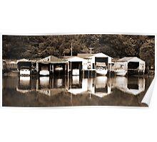 Boatsheds Poster