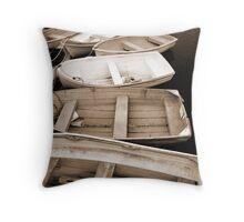 Whangerei Boats Throw Pillow
