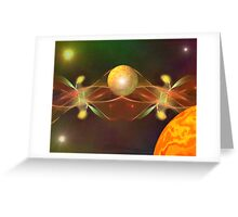 Space Explorer Greeting Card
