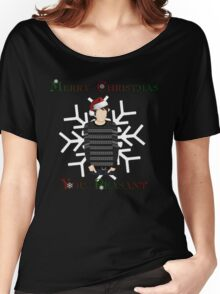 Merry Christmas You Peasant (danisnotonfire) Women's Relaxed Fit T-Shirt