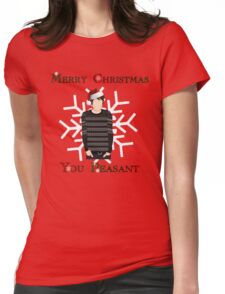 Merry Christmas You Peasant (danisnotonfire) Womens Fitted T-Shirt