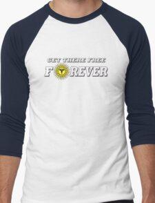 GET THERE FREE Men's Baseball ¾ T-Shirt