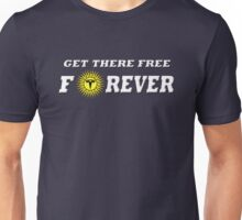 GET THERE FREE Unisex T-Shirt