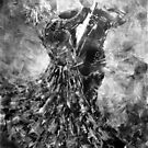 Ballroom Dancing - Black & White Art by Ballet Dance-Artist