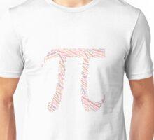 Pi: Maths Word Cloud 4 Unisex T-Shirt