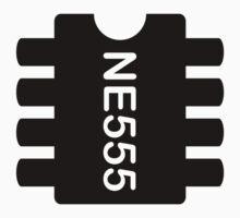 NE 555 IC by giovybus