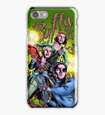 Buffy Comic Trio iPhone Case/Skin