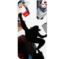 Jumping In Time Square iPhone Case/Skin
