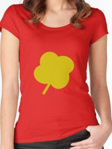 Clover Women's Fitted Scoop T-Shirt