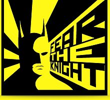 Batman Fear the Knight - Nerdy Cool  by peetamark