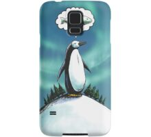 Penguin christmas wish Samsung Galaxy Case/Skin
