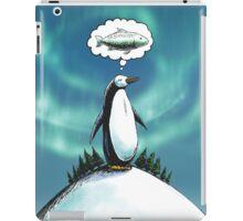 Penguin christmas wish iPad Case/Skin