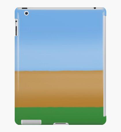 Driving by Field iPad Case/Skin