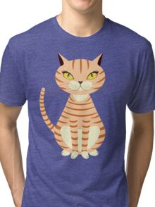 Red Cat Tri-blend T-Shirt