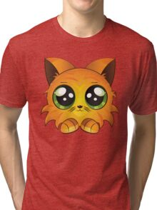 Red kitten Tri-blend T-Shirt