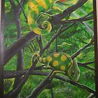 chameleons painting changes in warm weather by Skylur Wadowick