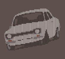 Fortitude's Ford Escort Mark 1 RS2000 Letters by twainf