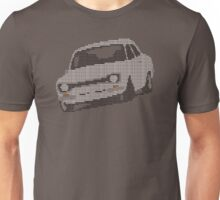 Fortitude's Ford Escort Mark 1 RS2000 Letters Unisex T-Shirt