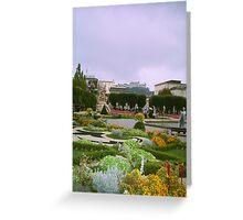Gardens in Vienna, Austria Greeting Card