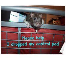 gamer rat Poster