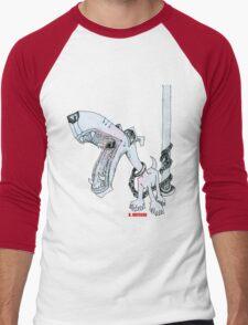 Leashed Men's Baseball ¾ T-Shirt