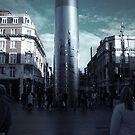 O'Connell Street Dublin by Philip  Rogan