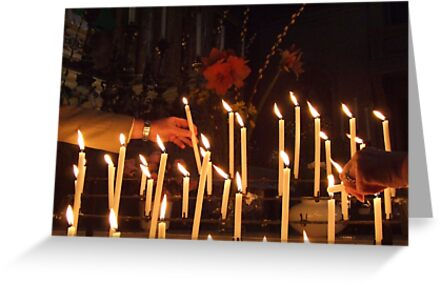 Votive Candles by PearlyPics