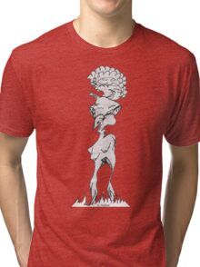 Alien Blow Up Doll  Tri-blend T-Shirt