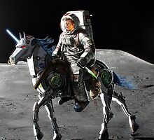 Space Unicorns!!! by Thomtick