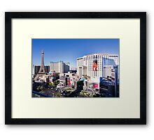 The Strip, Las Vegas, Nevada, USA Framed Print