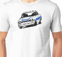 Fortitude's Ford Escort Mark 1 RS2000 Pixels Unisex T-Shirt