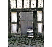 Old chair, Monsalvat Artist's Colony, Eltham  Photographic Print