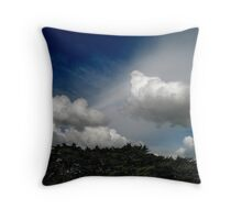 Magic Light, The One That Gifts You The Eyes Of A Child Throw Pillow