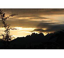 Organ Mountains Sunrise Photographic Print