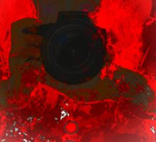 Photographer 4 Sticker