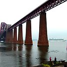 Forth Rail Bridge by Tom Gomez