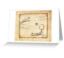 Whistle Greeting Card