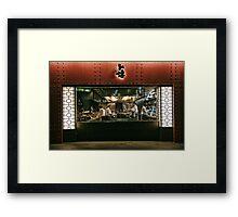 Tokyo Restaurant Framed Print